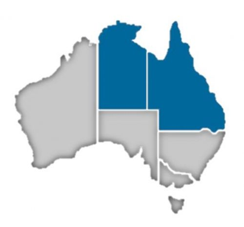 Queensland NT states