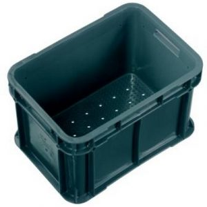 IH017GRY - 20L Heavy Duty Crate Grey
