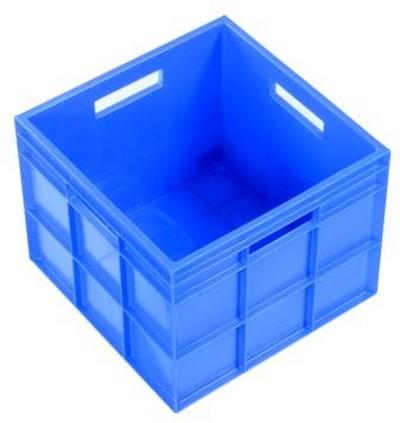 IH099BLU - 29L Slab Sided Crate Blue