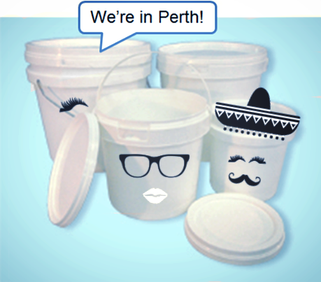 'we're in perth' buckets