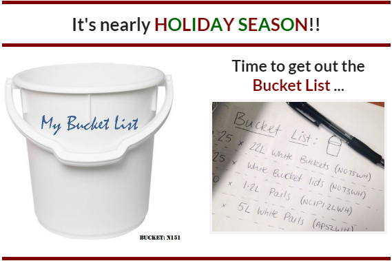 What's on your bucket list?