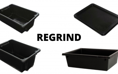 Regrind Plastic Crates